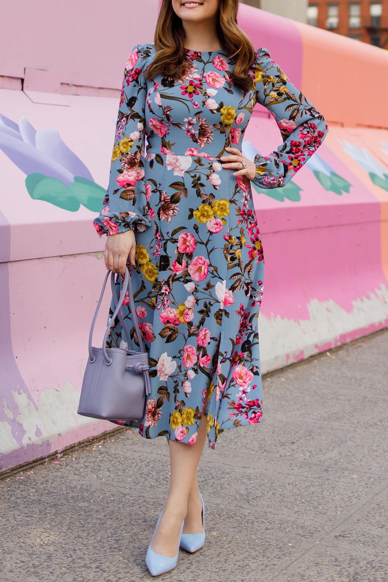 Nordstrom Eliza J Floral Dress