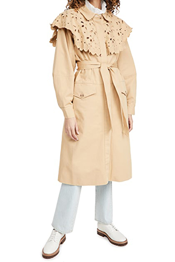 Sea New York Trench Coat