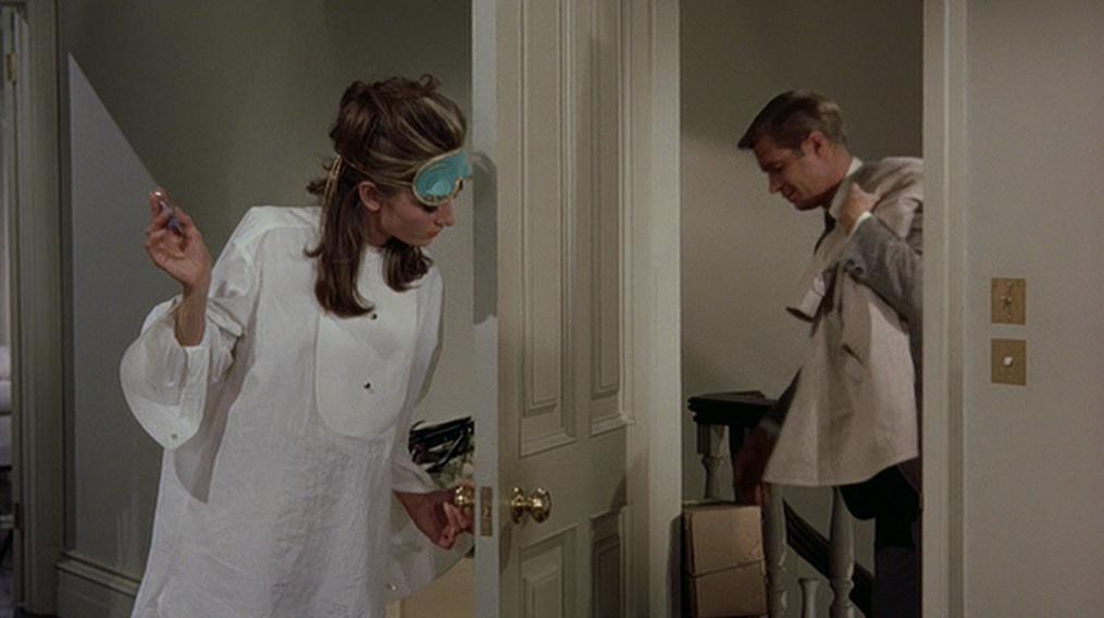 Audrey Hepburn Breakfast at Tiffanys White Shirt