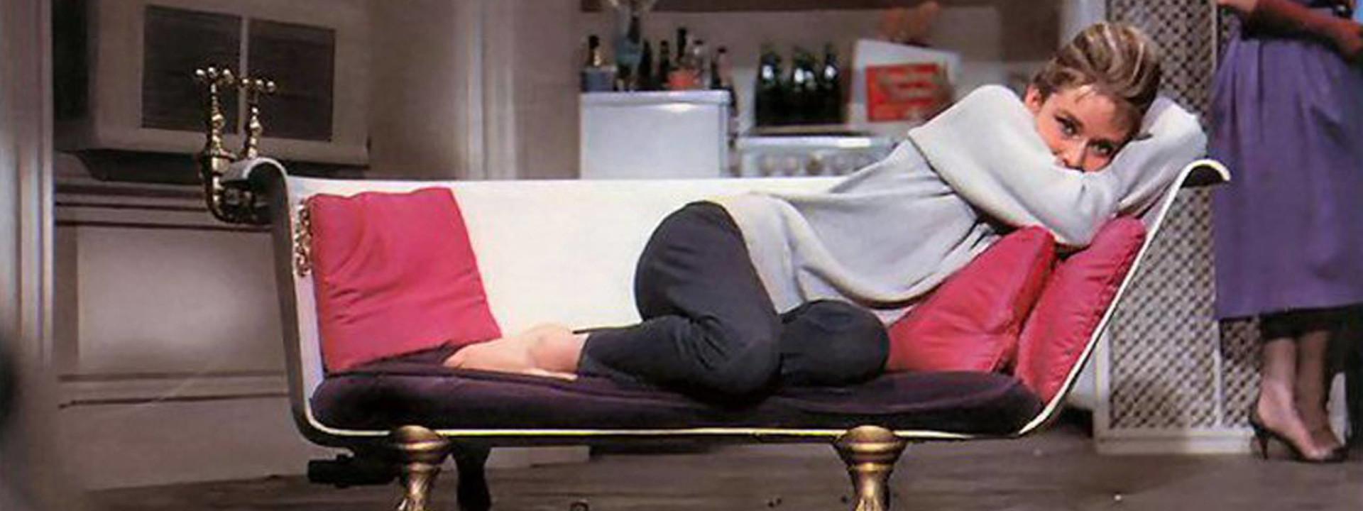 Tub Sofa Breakfast at Tiffanys Audrey Hepburn