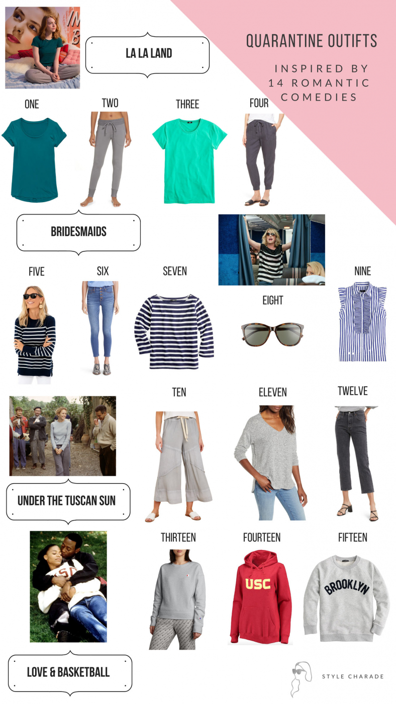 romantic comedies outfits