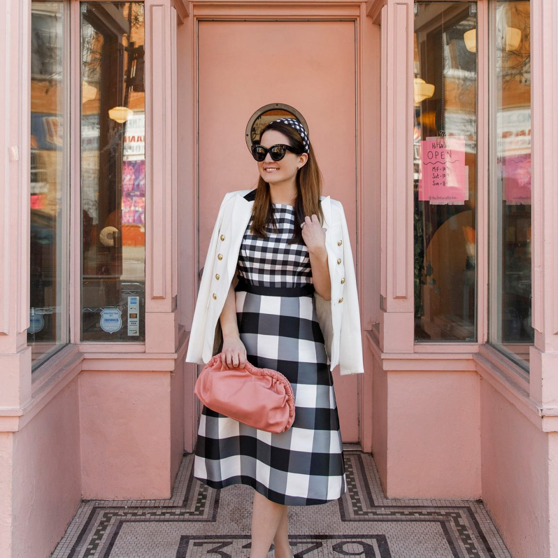 Jennifer Lake Kay Unger Gingham