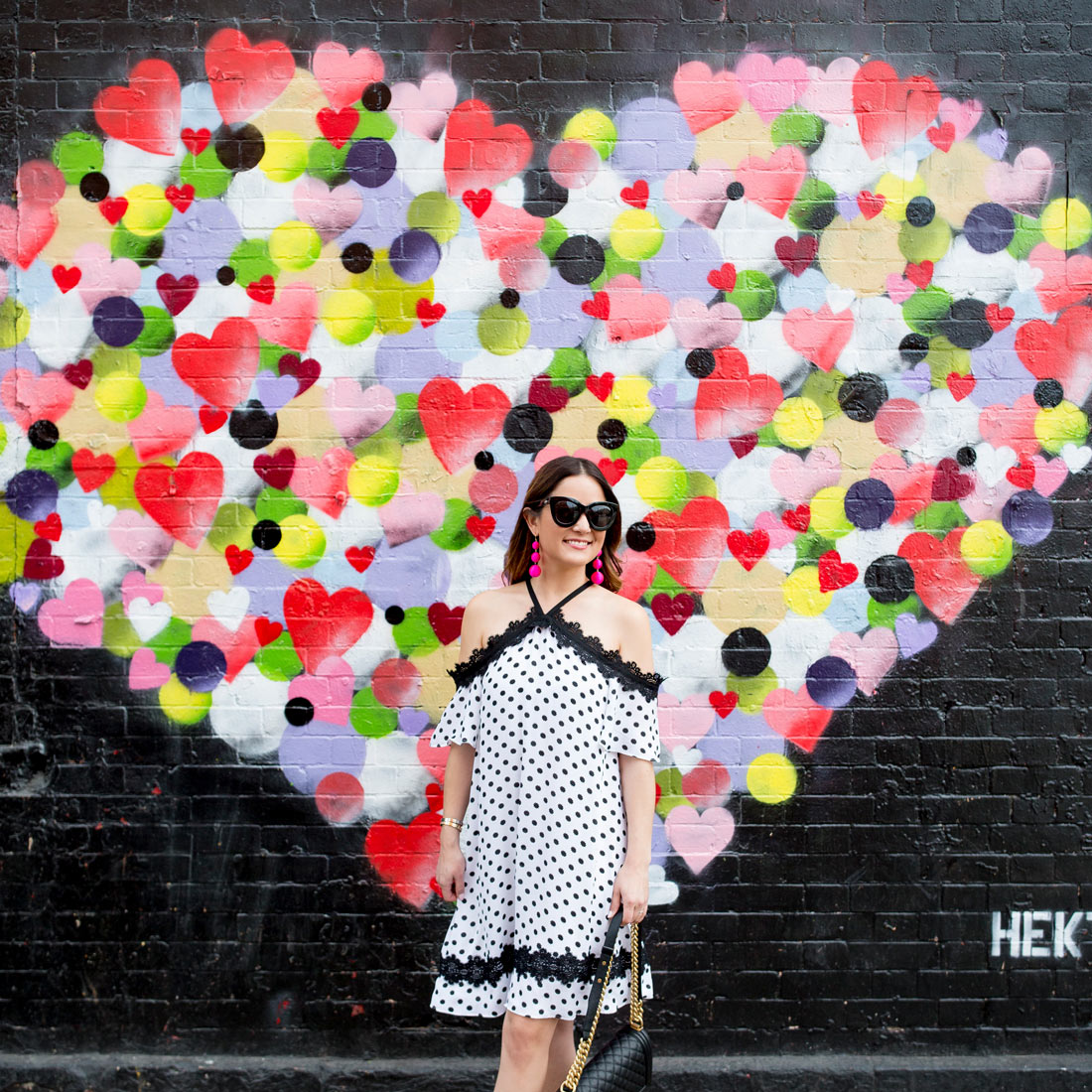 Hearts Mural New York City
