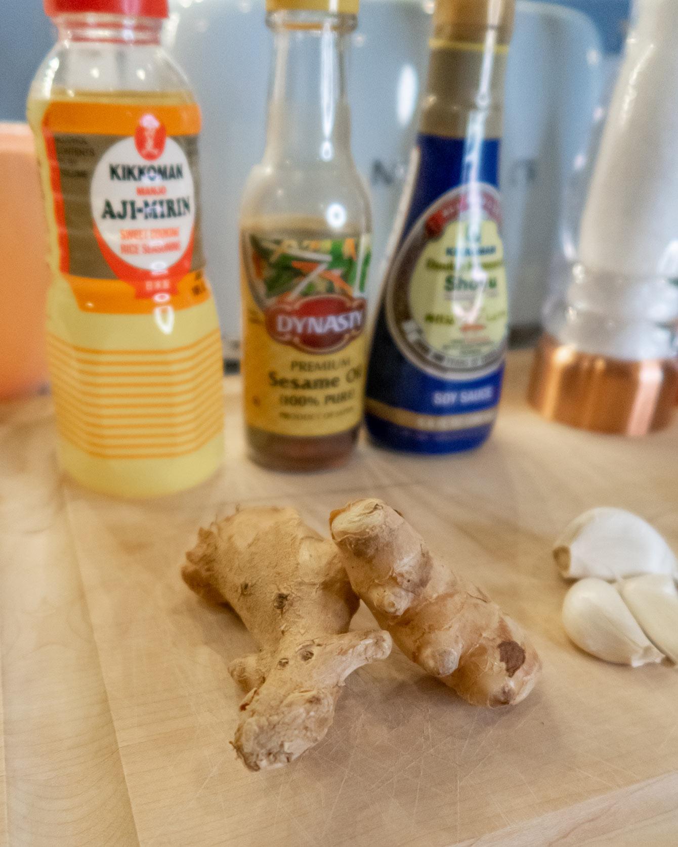 Japanese ginger Garlic Salmon