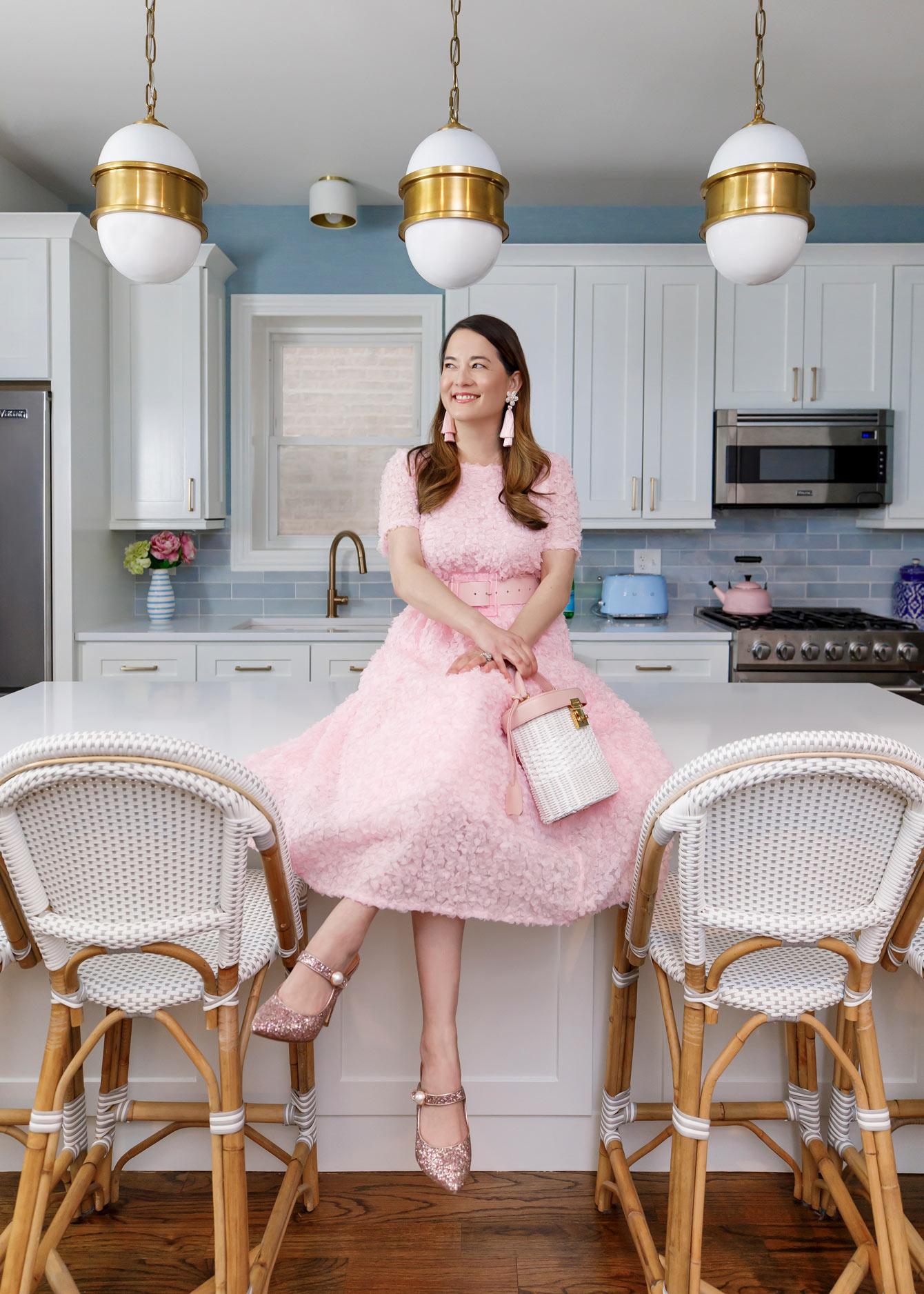 Jennifer Lake Atlantic Pacific Pink Dress