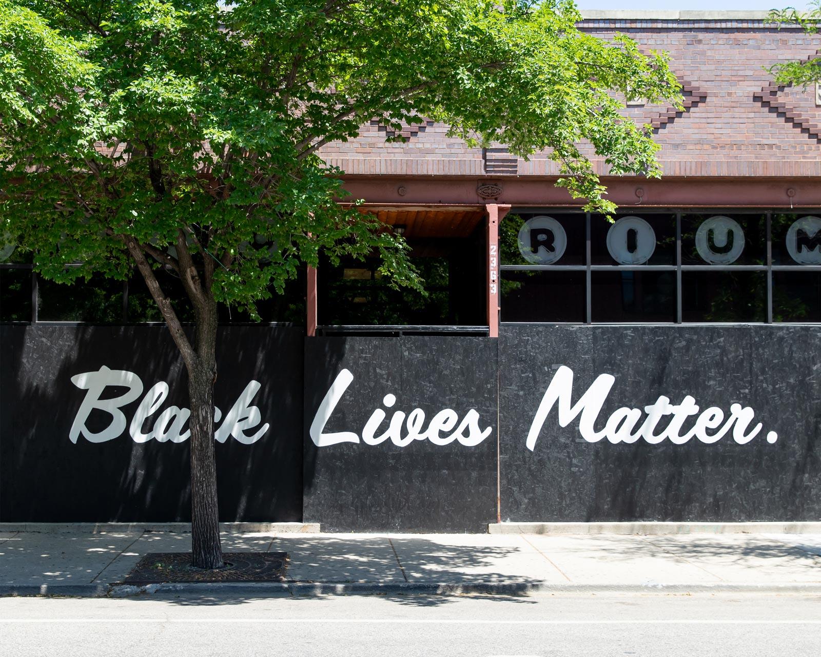 Black Lives Matter Emporium Logan Square Chicago