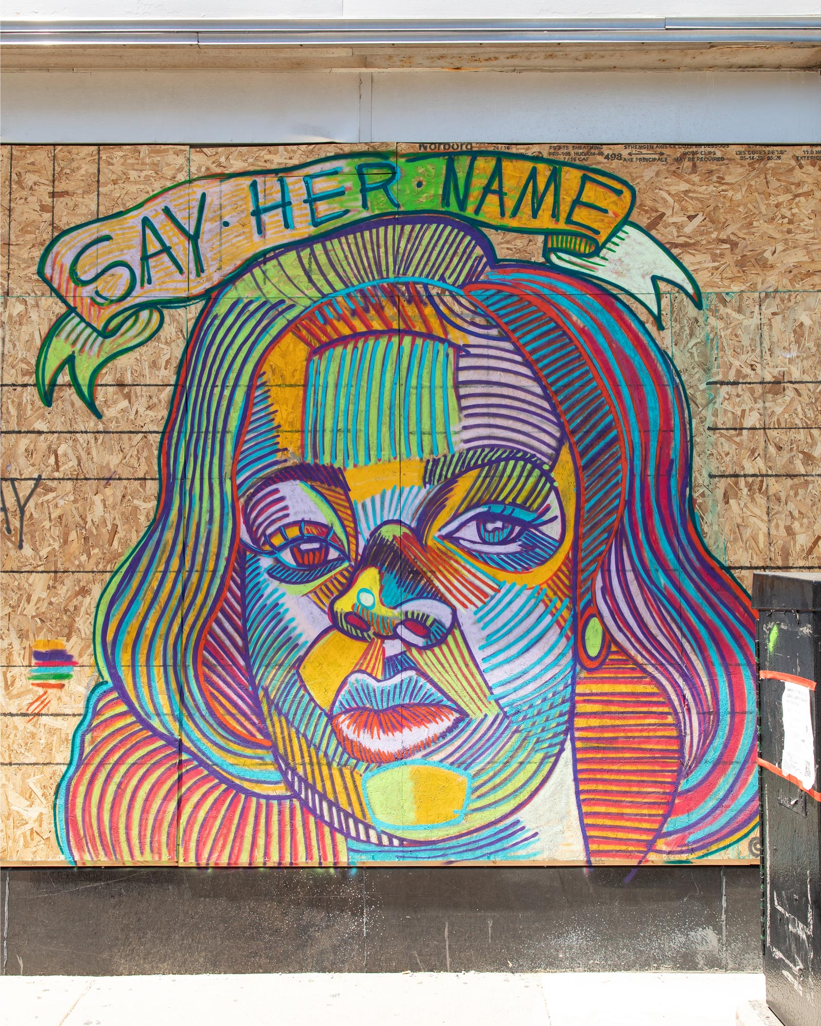 Breonna Taylor Mural Chicago