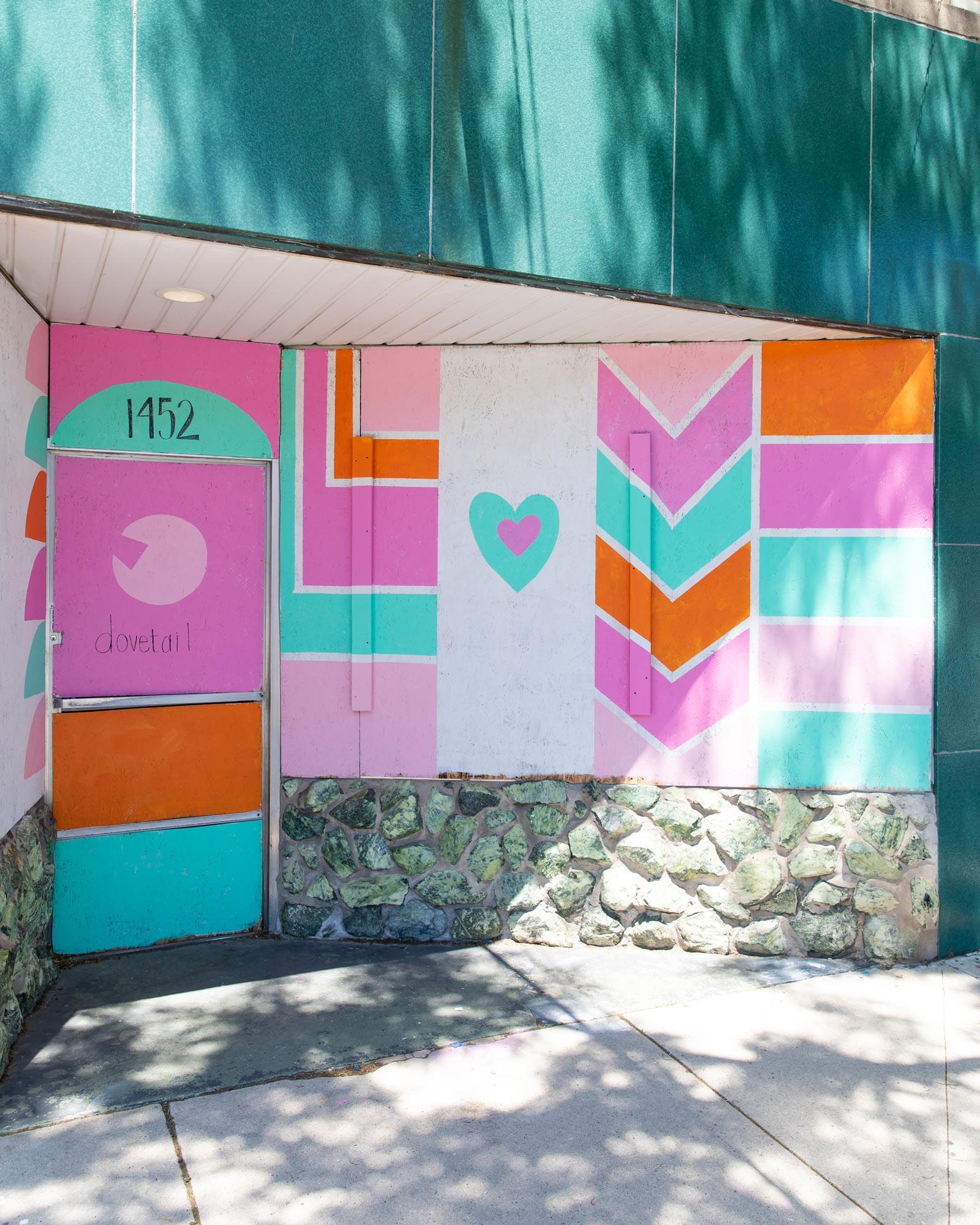 Dovetail Love Mural Chicago