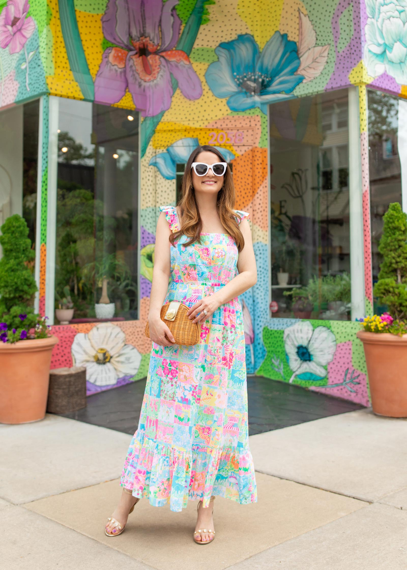 Lilly Pulitzer Crista Midi Dress