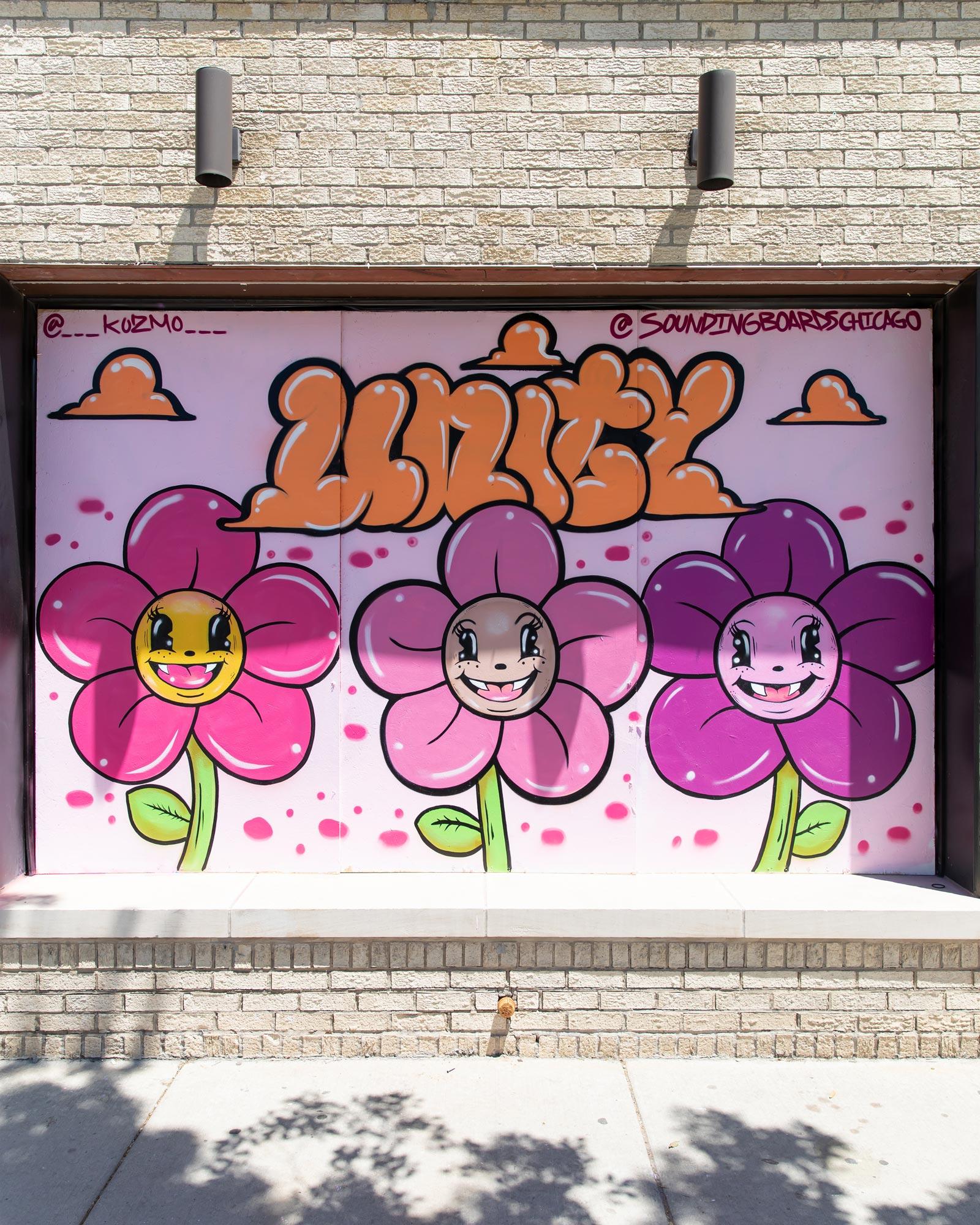 Unity Mural Logan Square Chicago