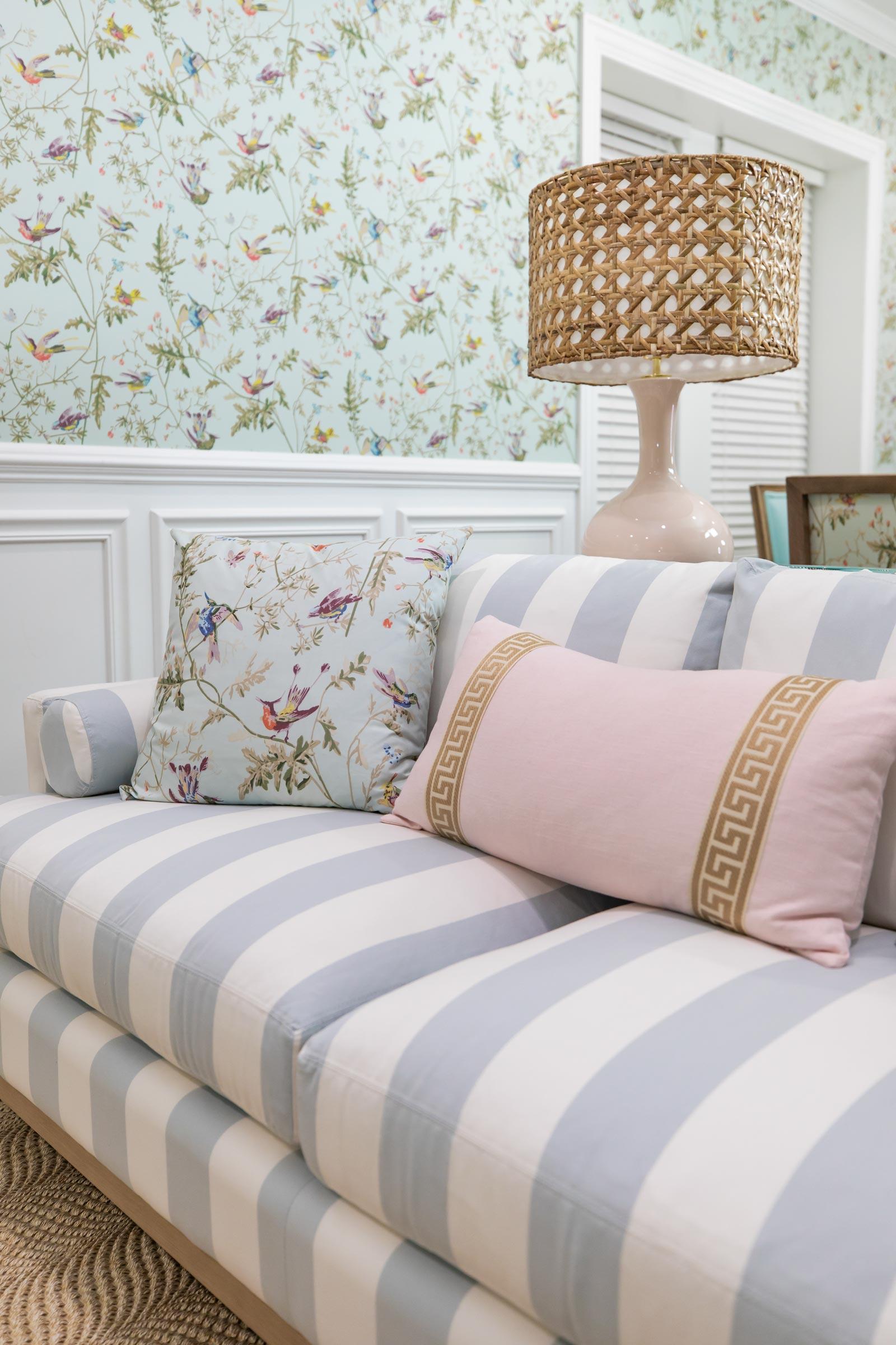 Arianna Belle Hummingbird Pillow