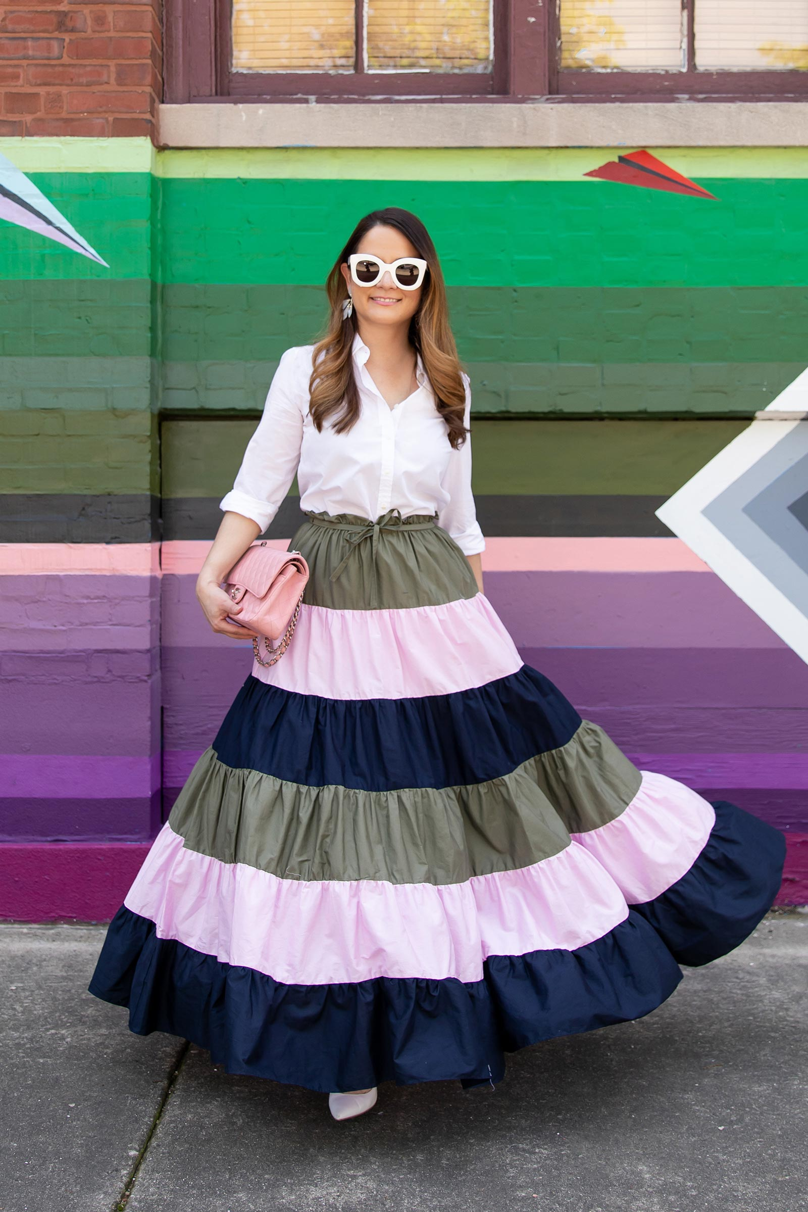 Hutch Tiered Maxi Skirt