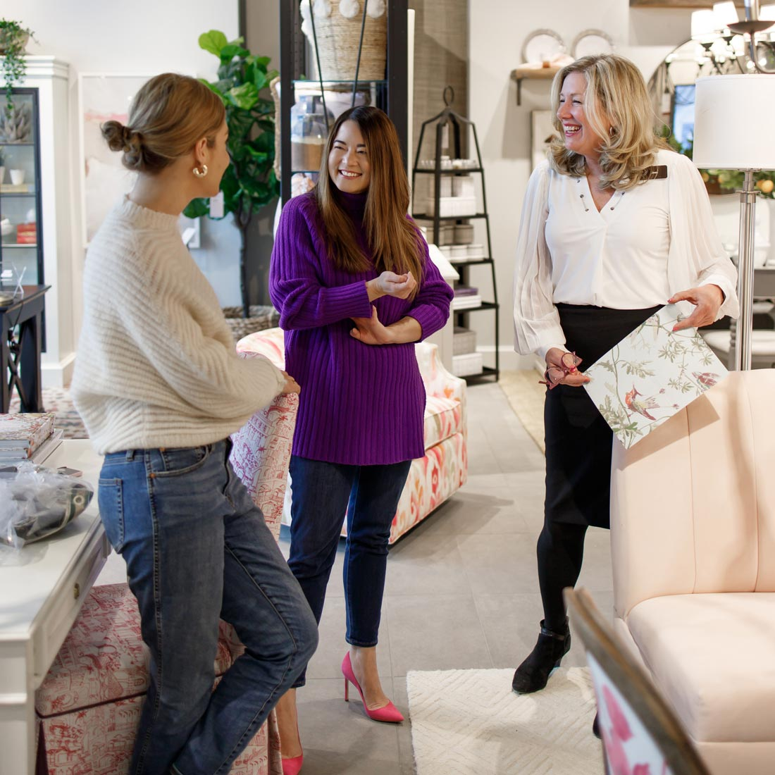 Jennifer Lake Ballard Designs Oakbrook Store