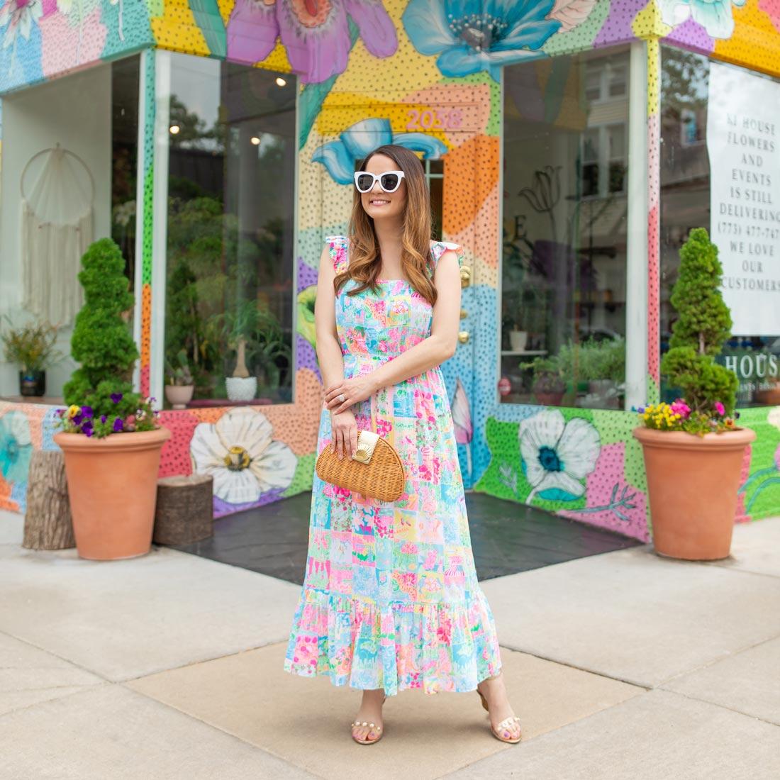Jennifer Lake Lilly Pulitzer State of Mind Dress