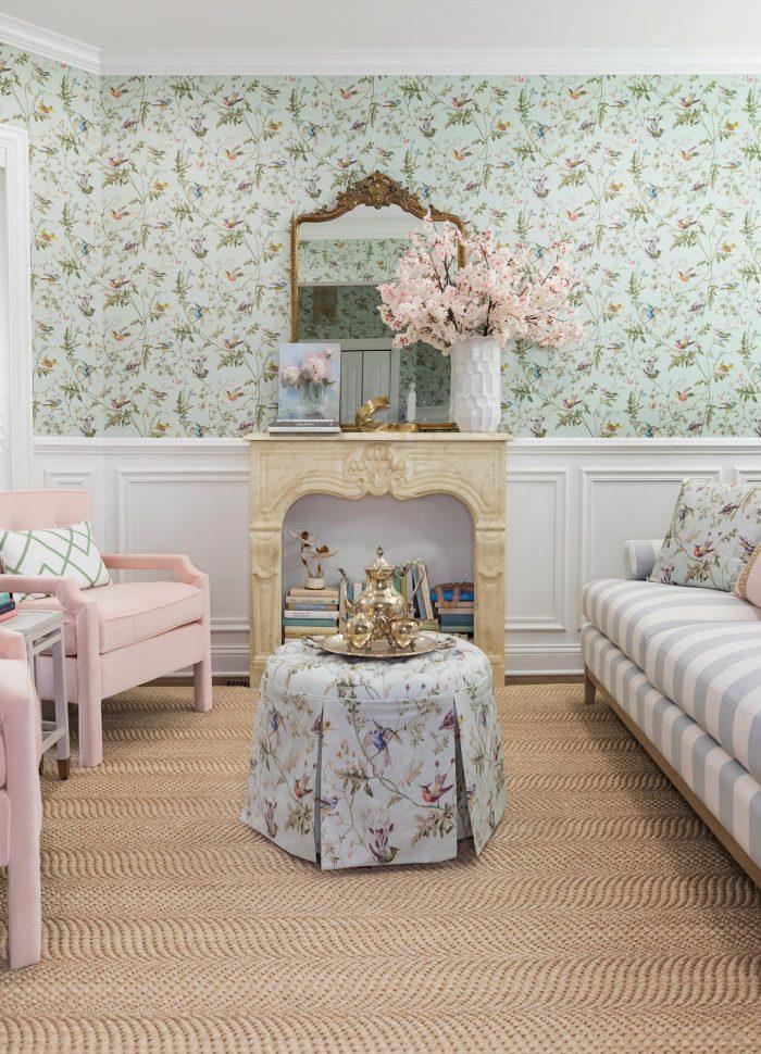 Living Room Reveal with Ballard Designs