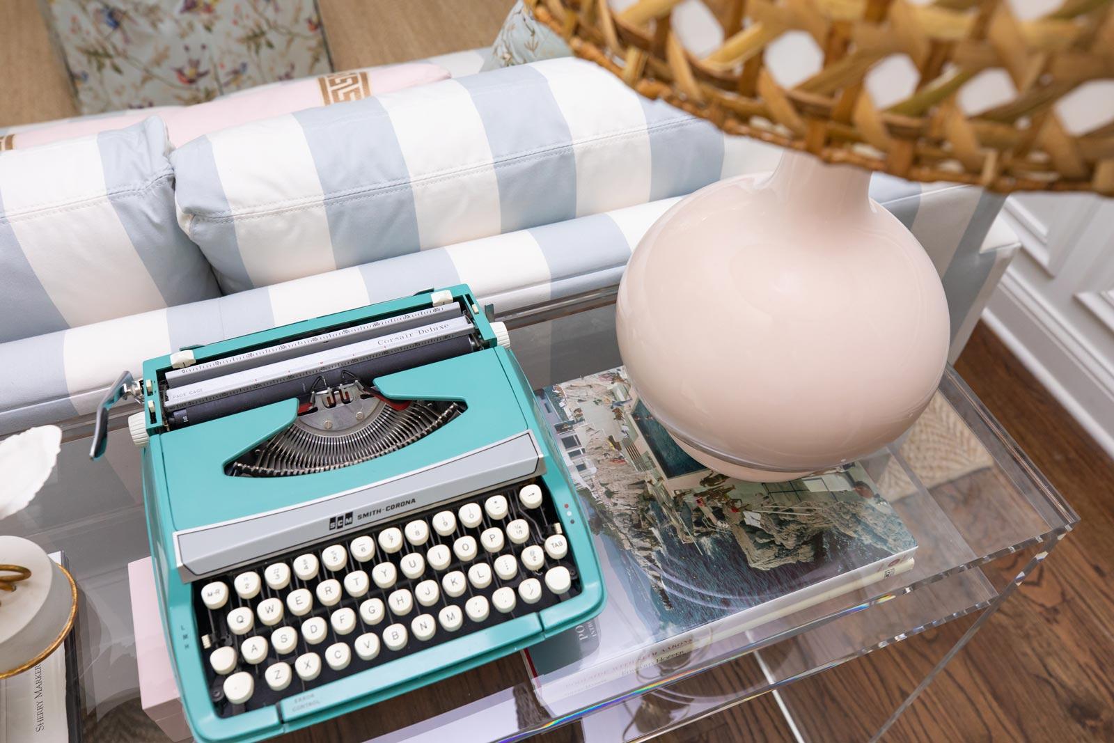 Jennifer Lake Vintage Typewriter