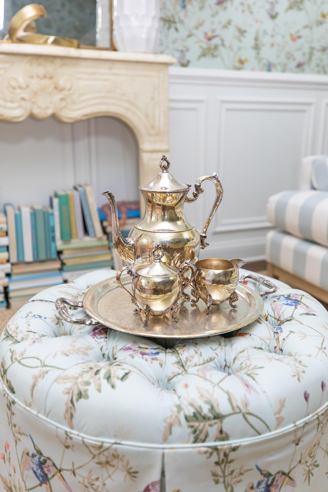 Jennifer Lake Vintage Sterling Silver Tea