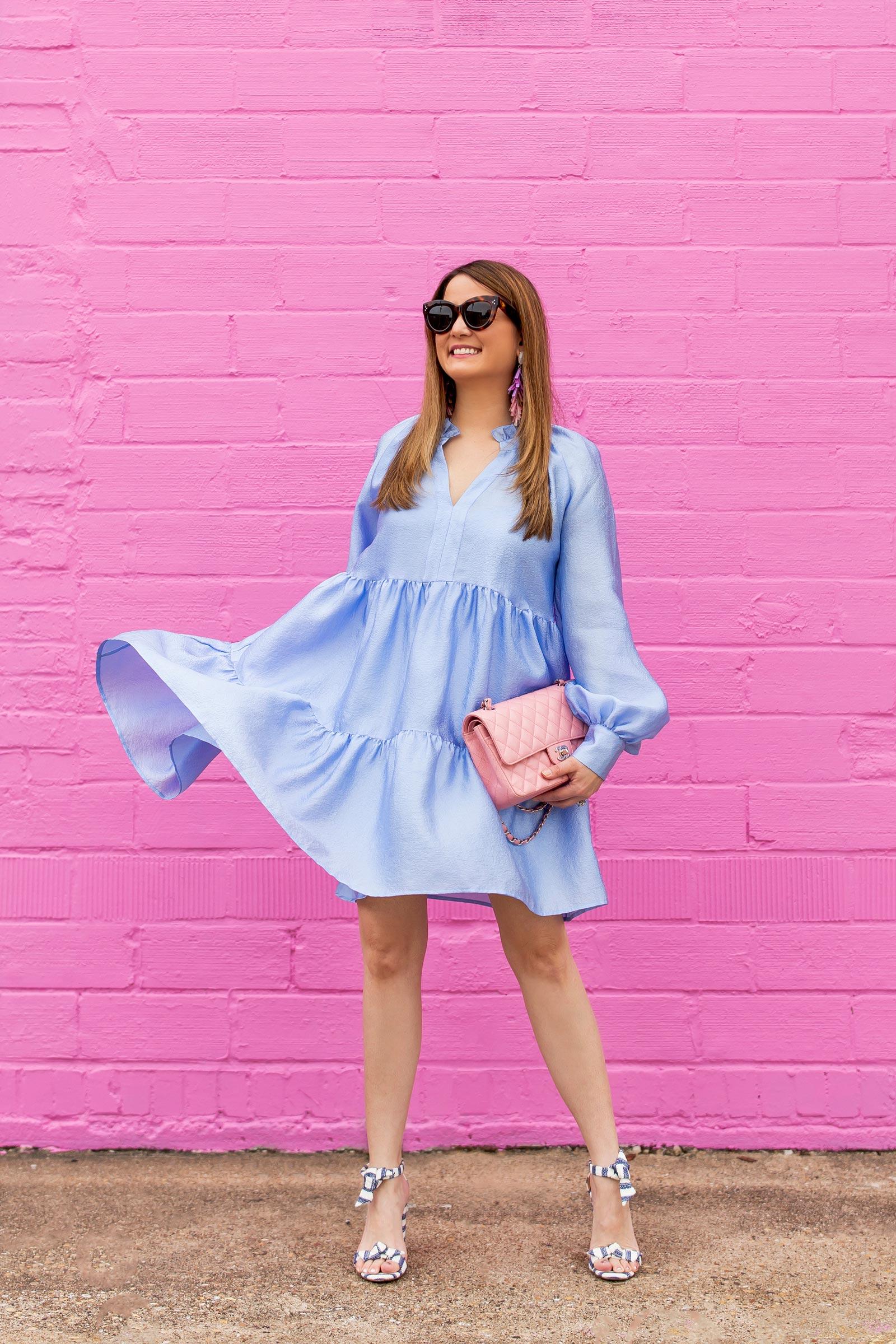 Stine Goya Jasmine Blue Dress
