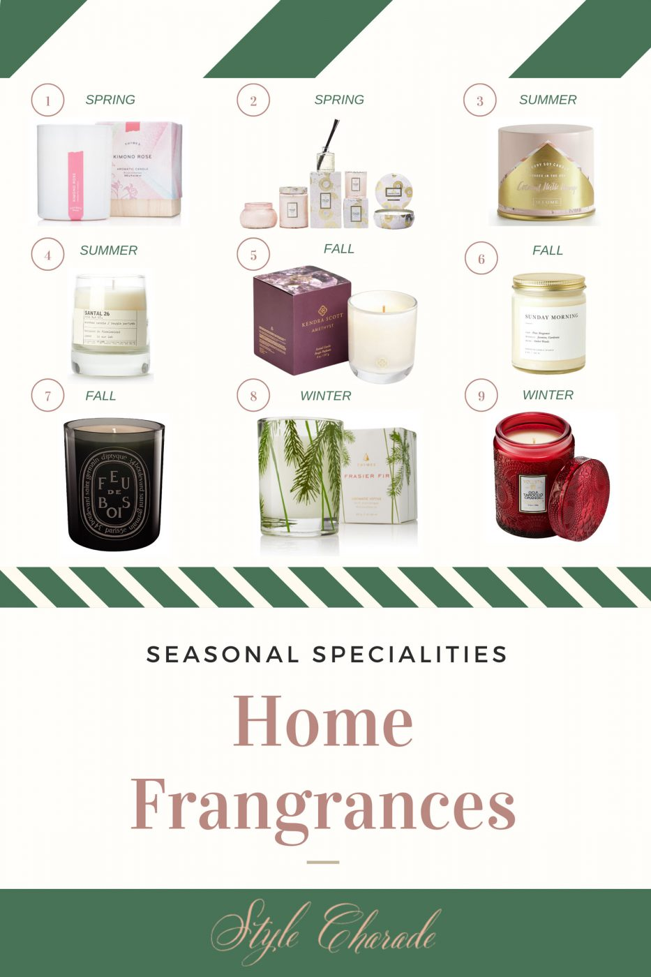 What Is The Best Home Fragrance Style Charade