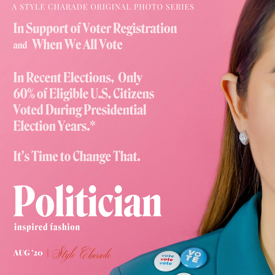 Politician Buttons