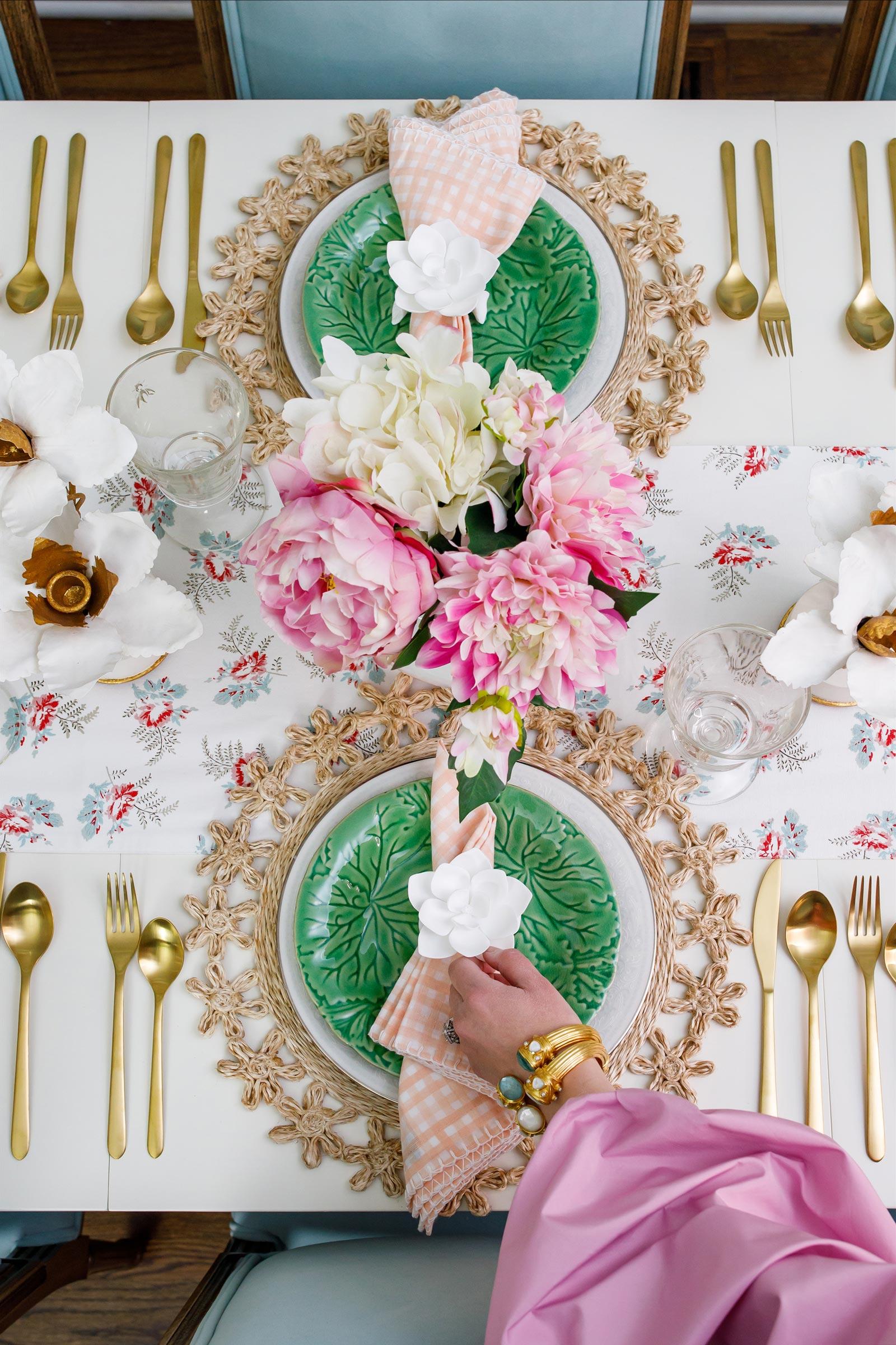 Jennifer Lake Ballard Designs Colorful Tablescape