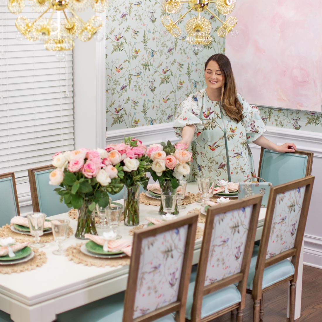 Ballard Designs Jennifer Lake Dining Room