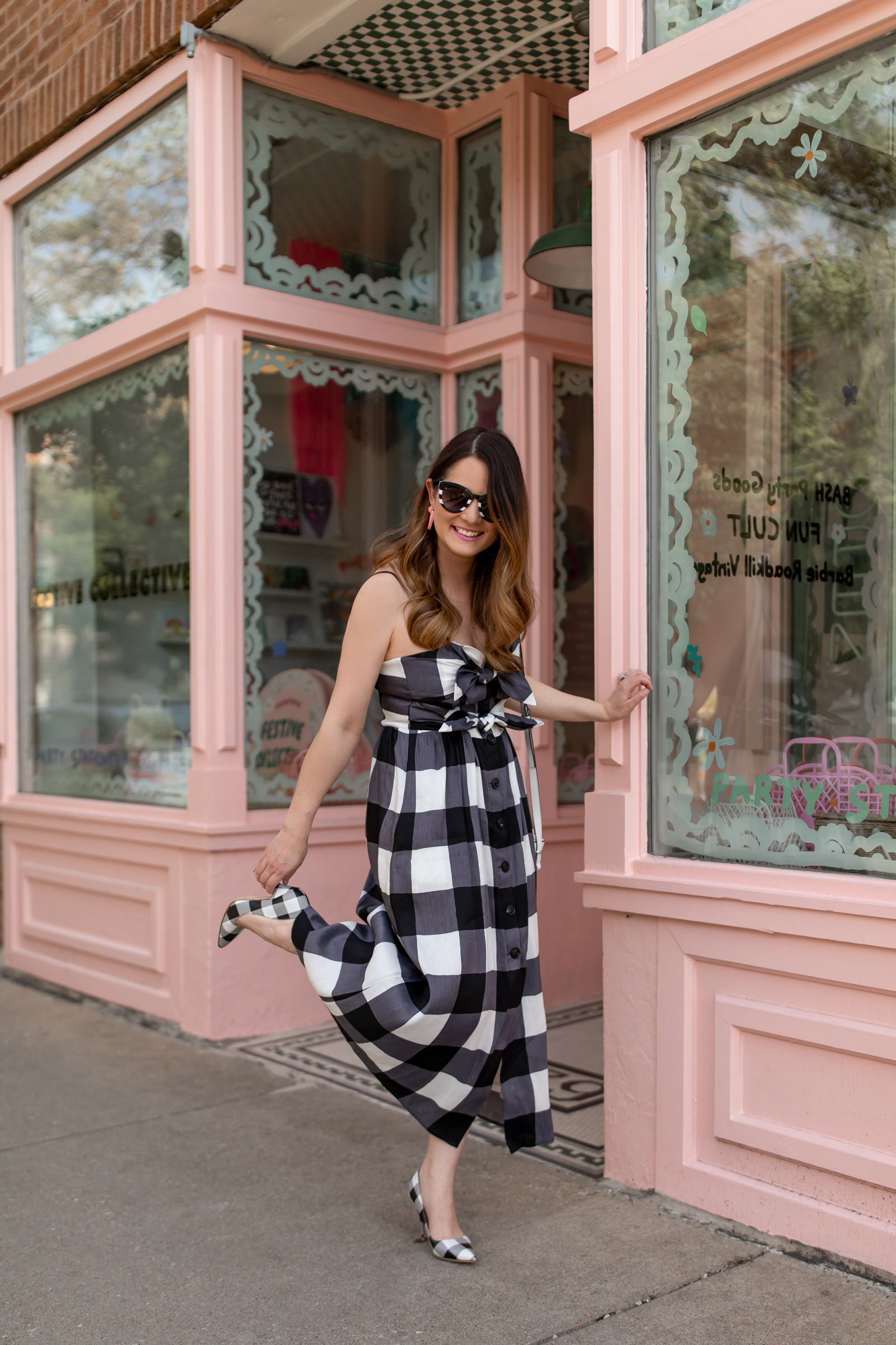 Jennifer Lake Kate Spade Dress