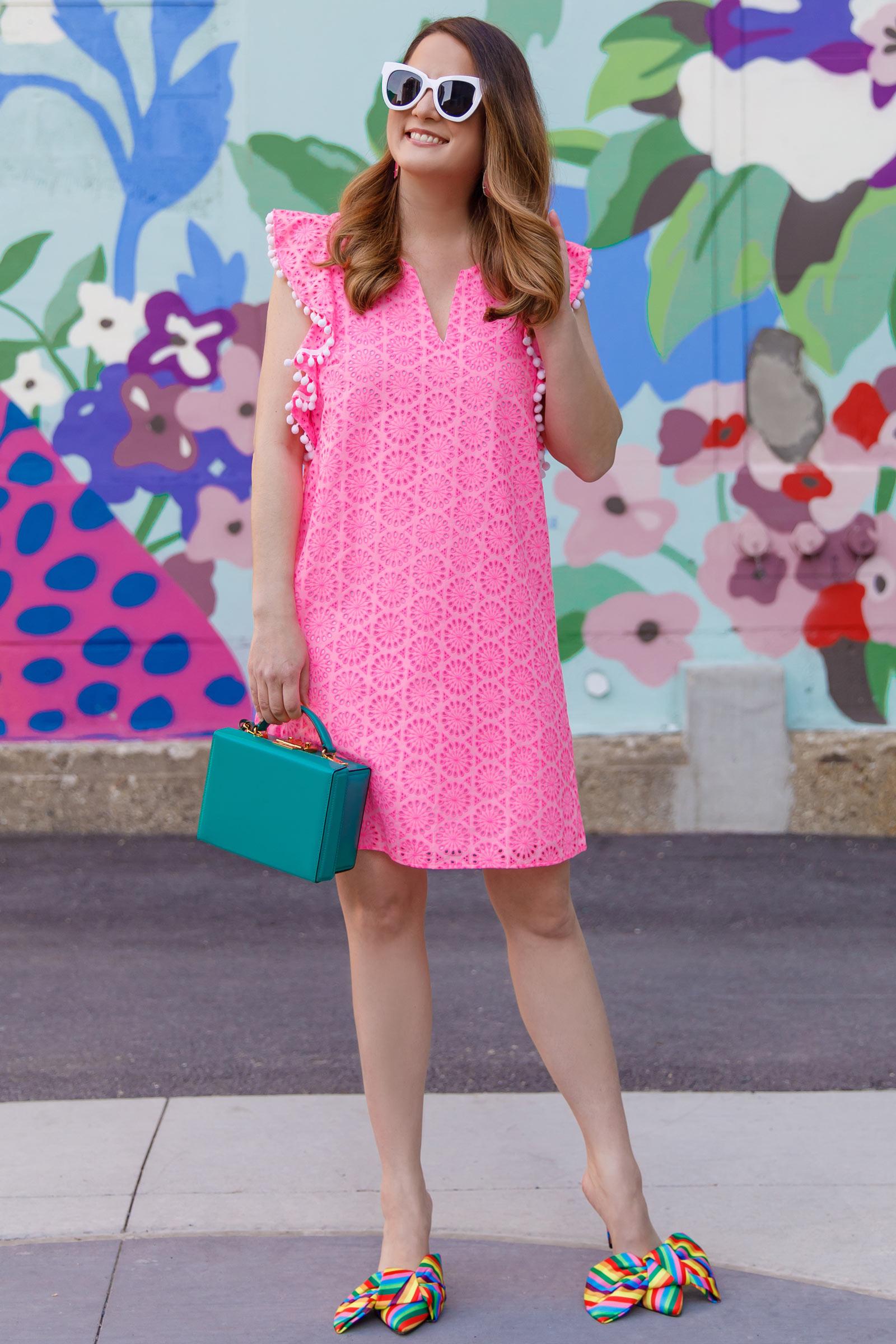 Jennifer Lake Lilly Pulitzer Astara Dress