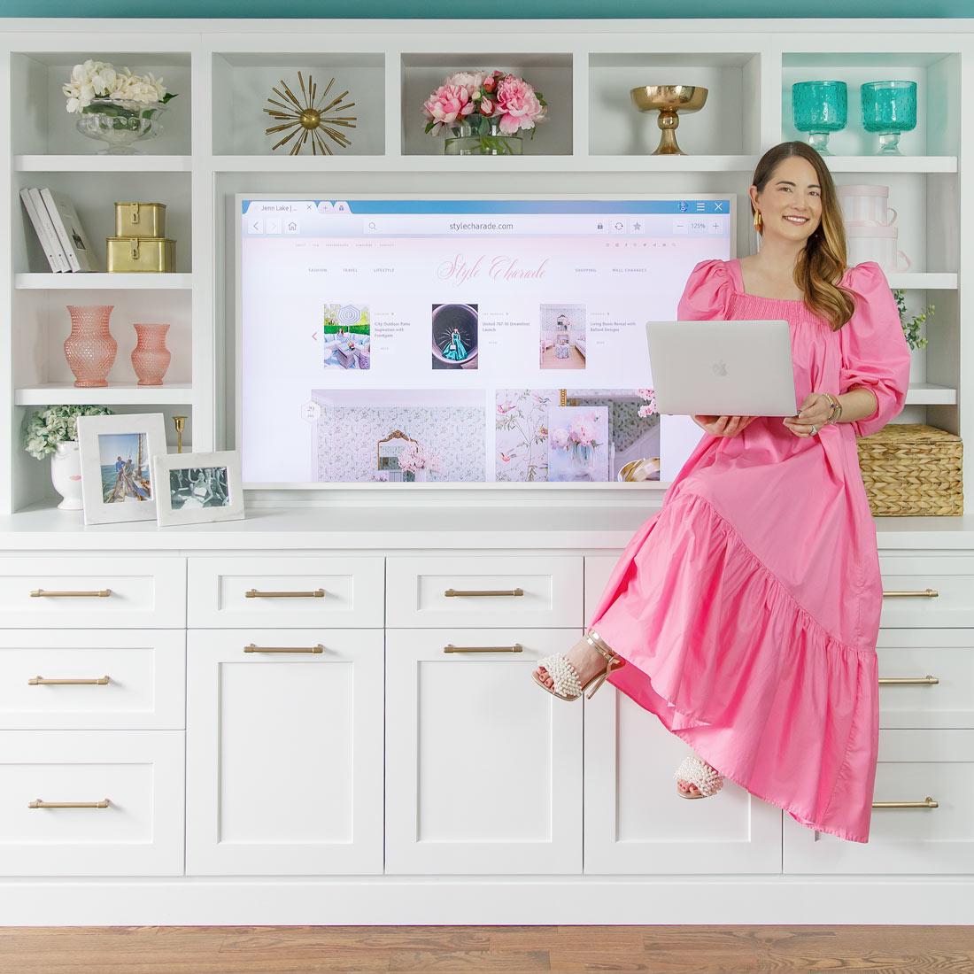 Jennifer Lake Style Charade Blog Announcement