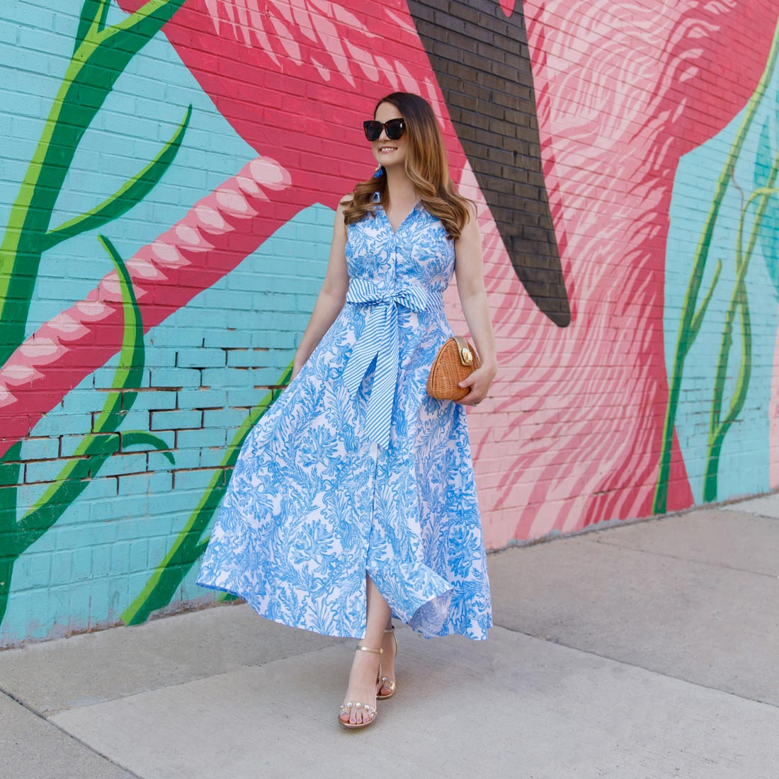 Lilly Pulitzer Chrisella Midi Dress