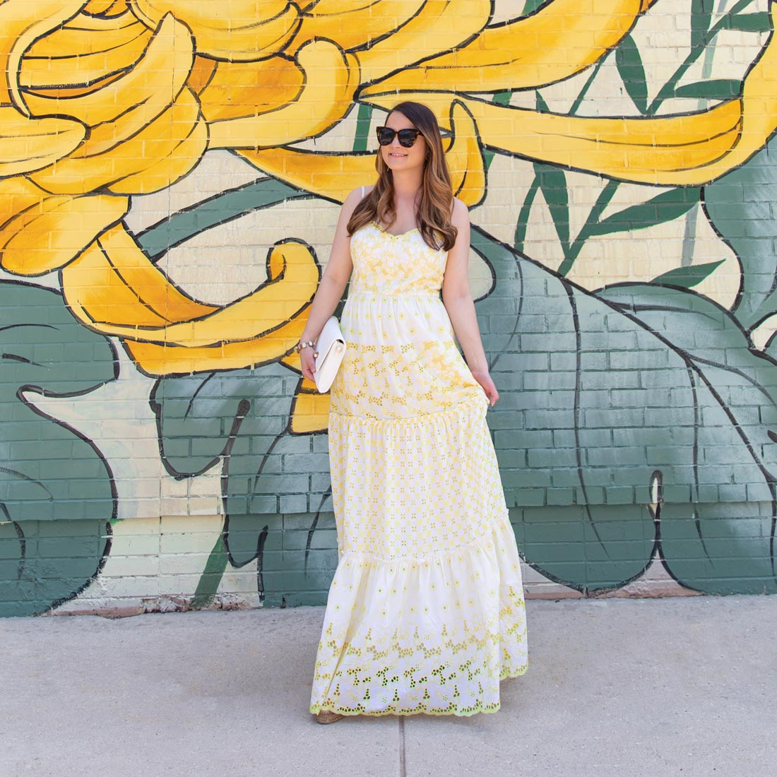 Lilly Pulitzer Yellow Maxi Dress