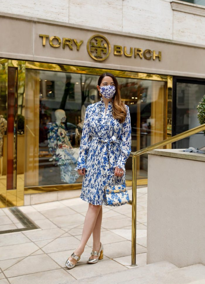 Jennifer Lake Tory Burch Chicago