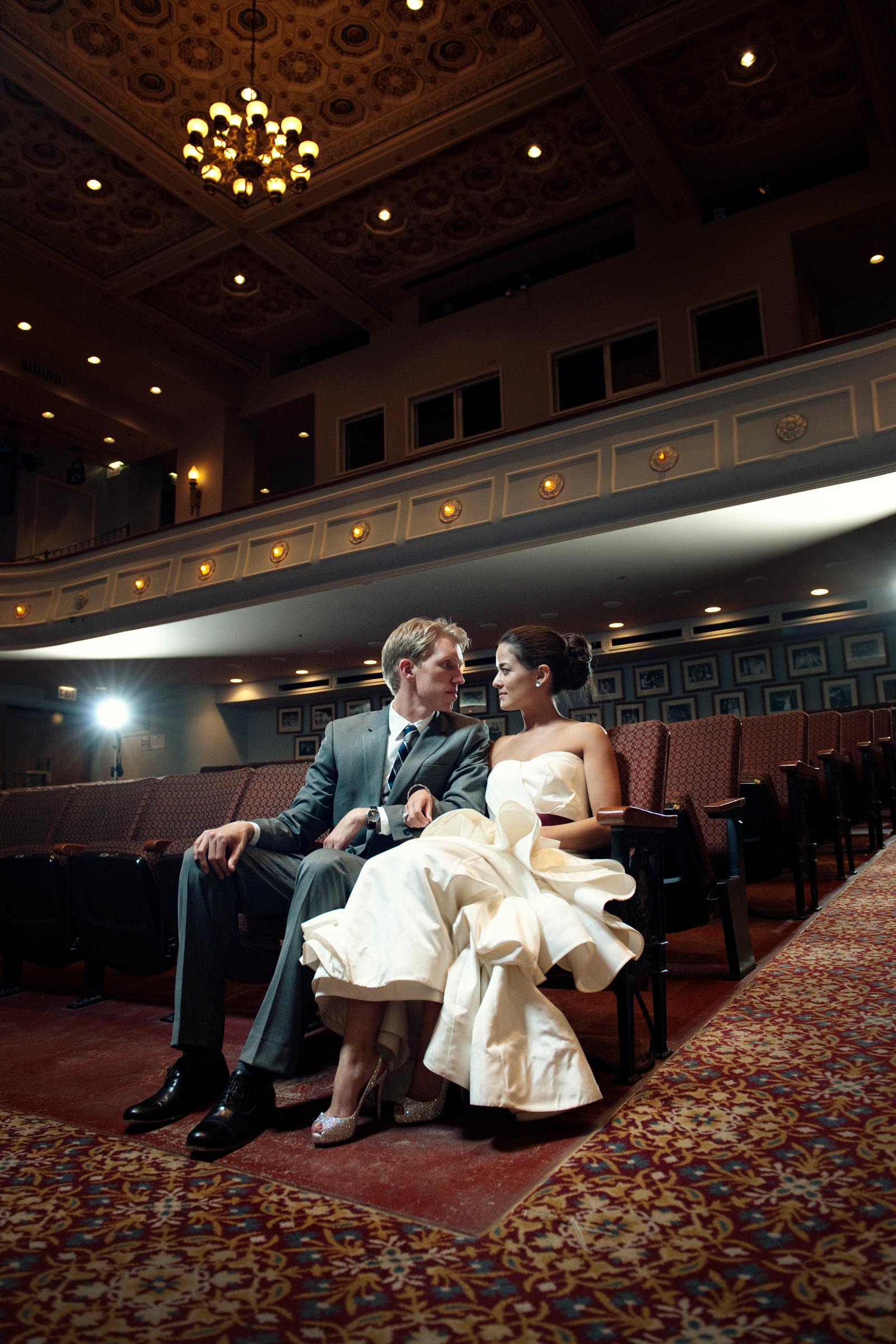 Jennifer Lake Wedding Theater