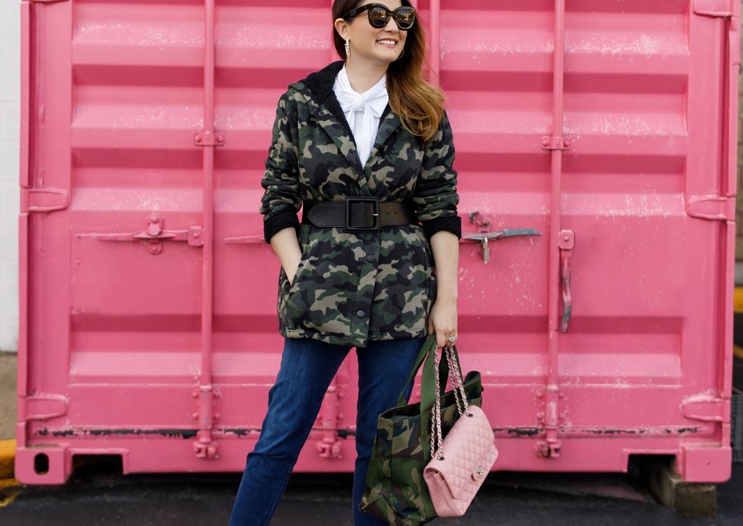 Style Charade Camo Jacket