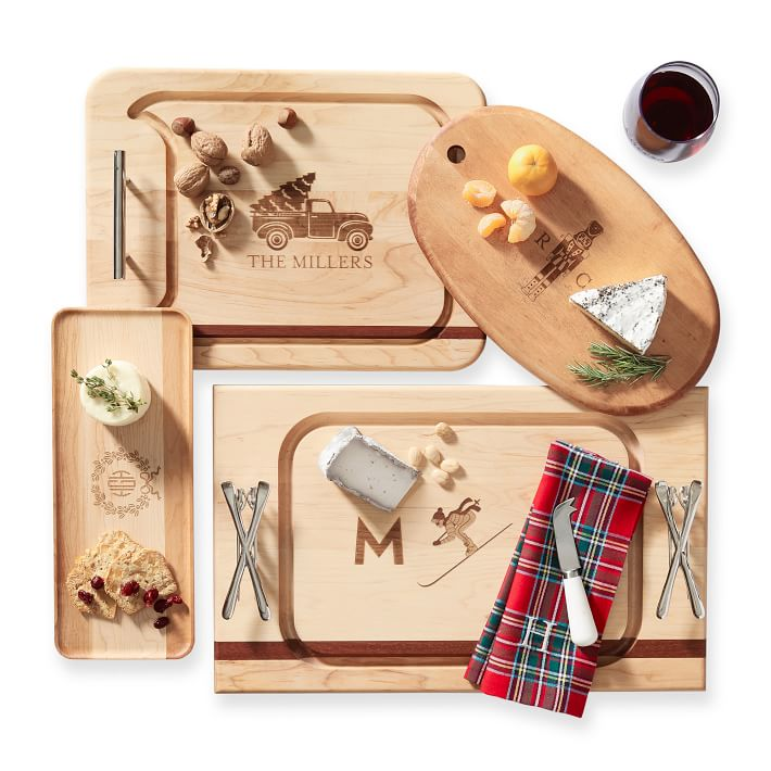 Build Your Cheese Board Serving Board