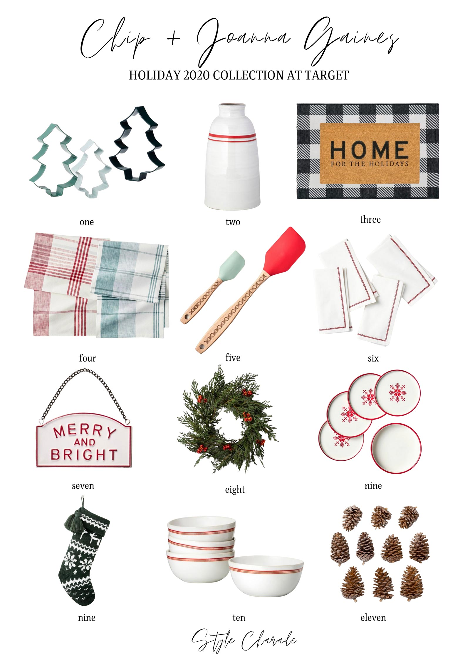 Chip Joanna Gaines Holiday Collection