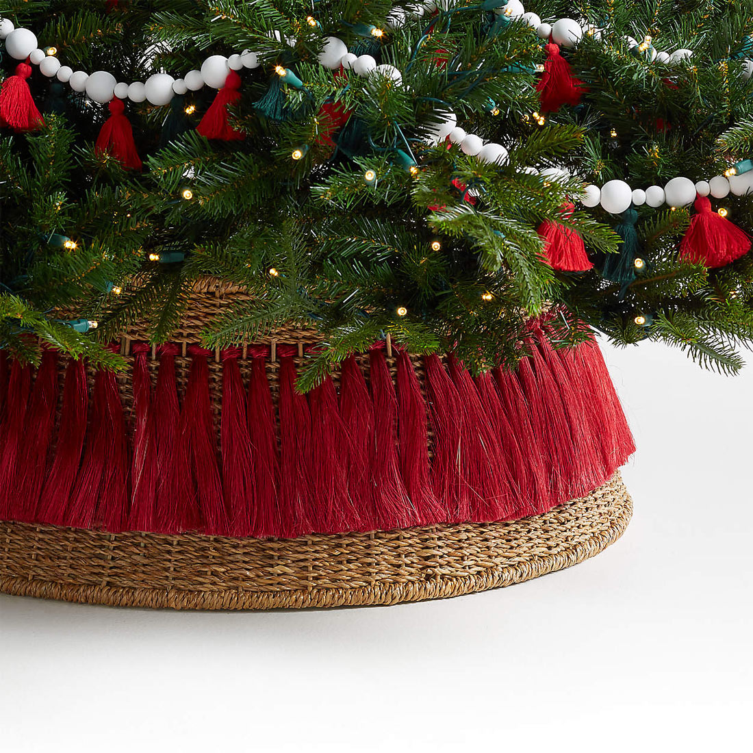 Christmas Tree Collar Tassels