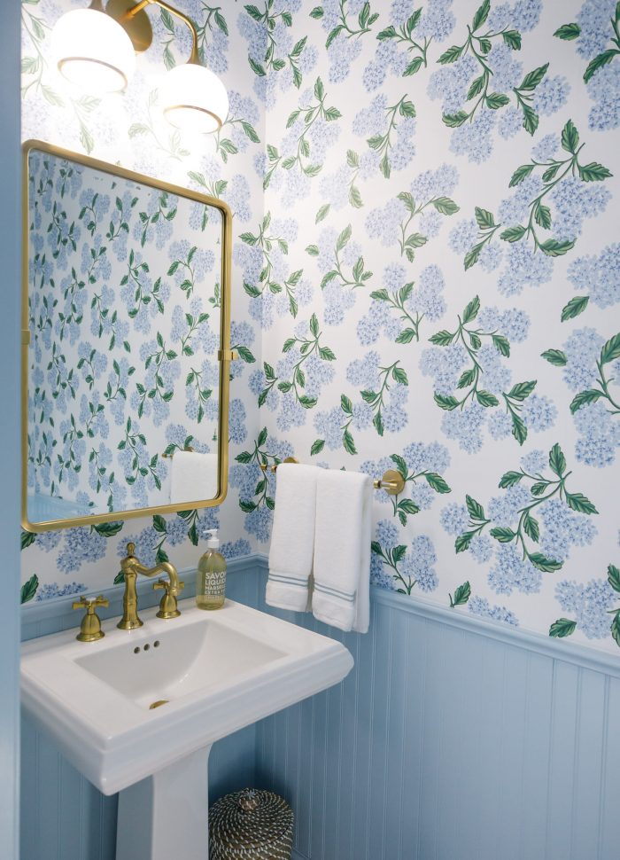 Our Powder Room Redesign