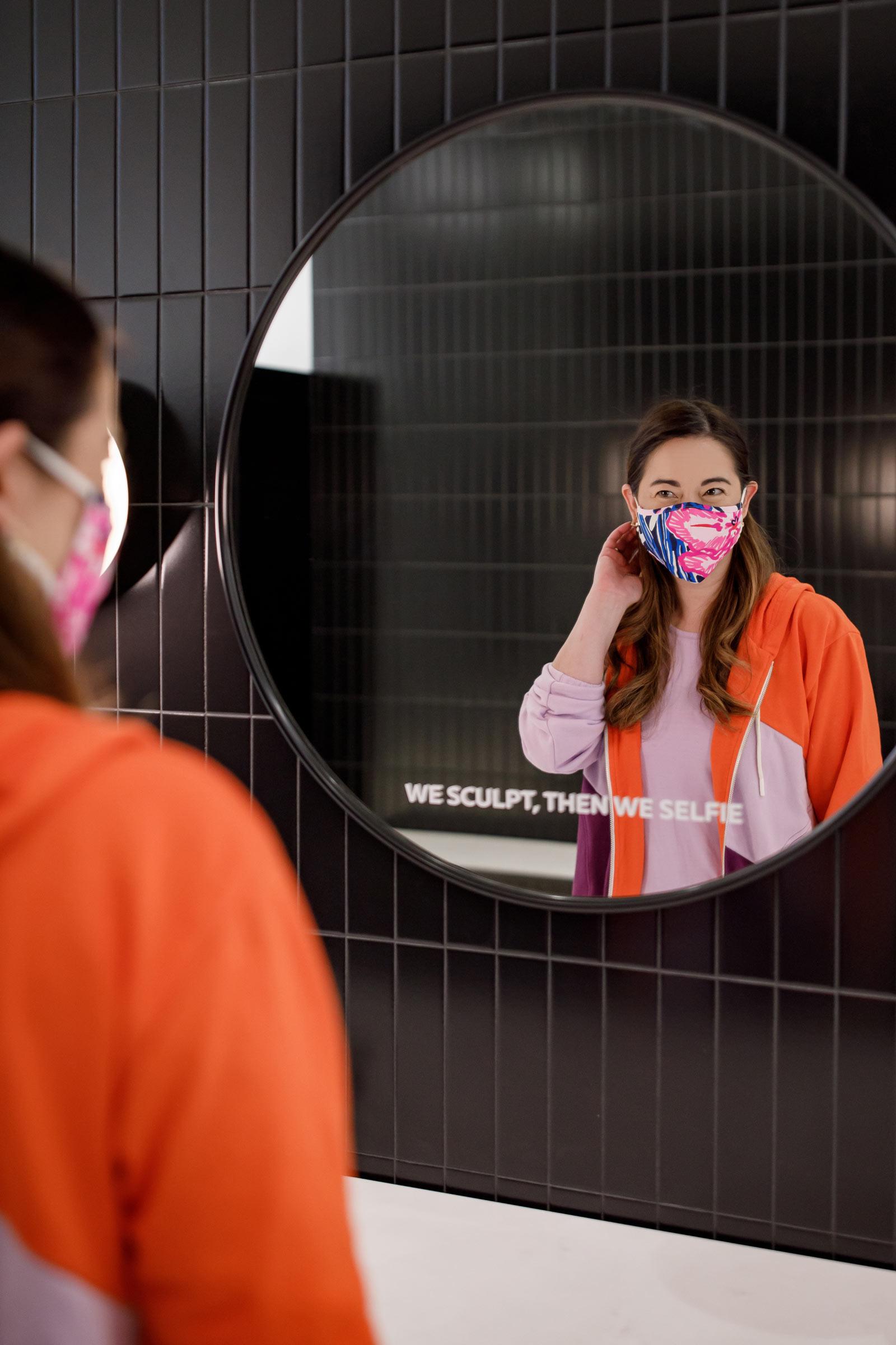 Jennifer Lake P.volve Mirrors