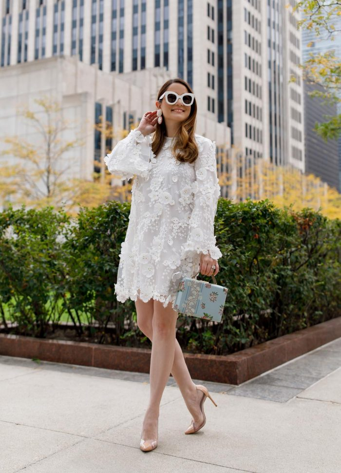 Mestiza White Mini Dress