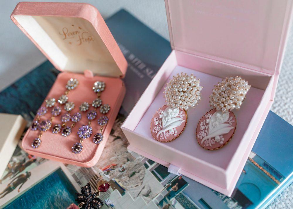 Nicola Bathie Cameo Earrings