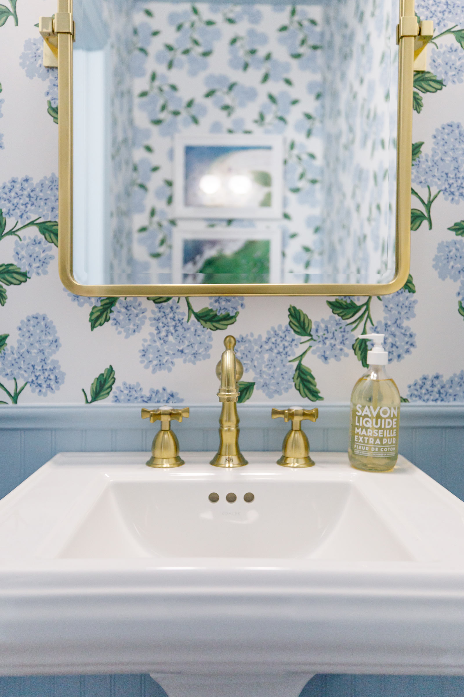 Style Charade Powder Room