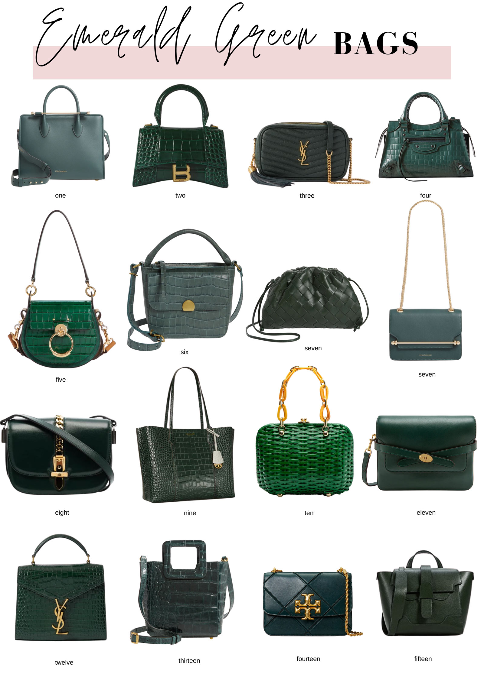 Emerald Handbags