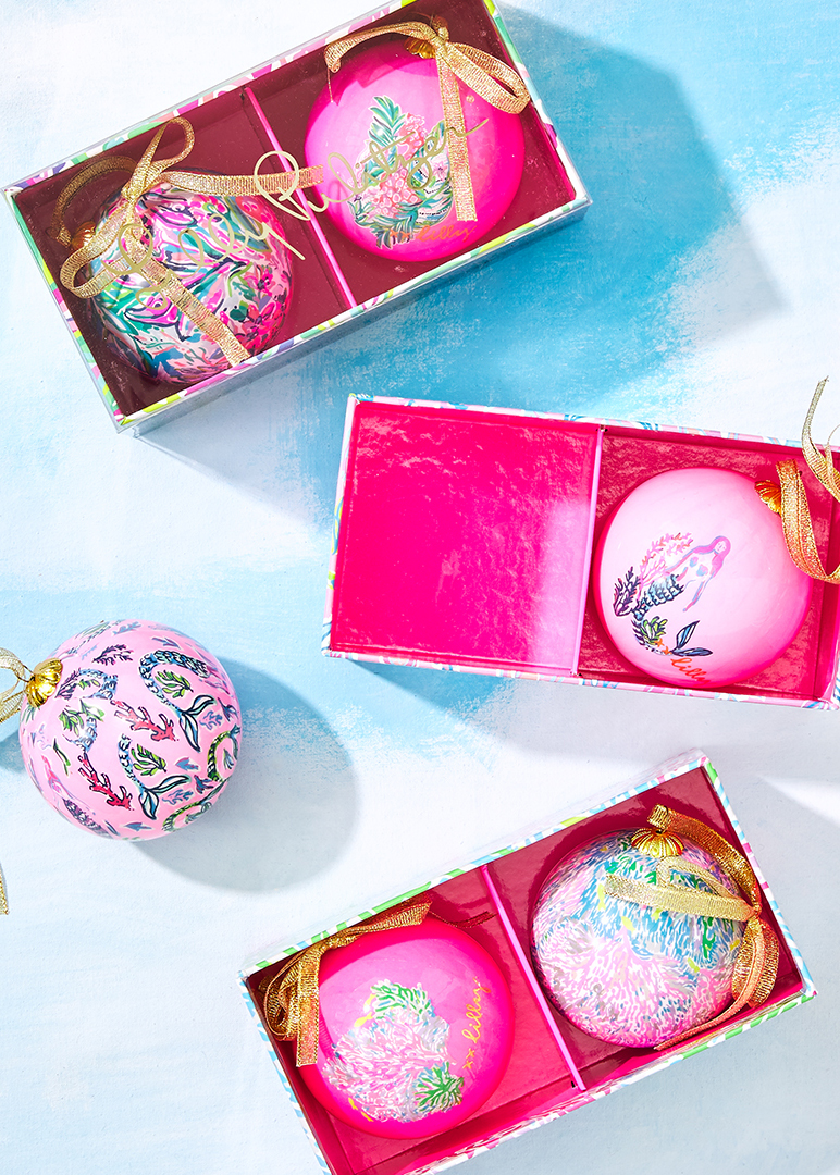 Lilly Pulitzer Ornaments