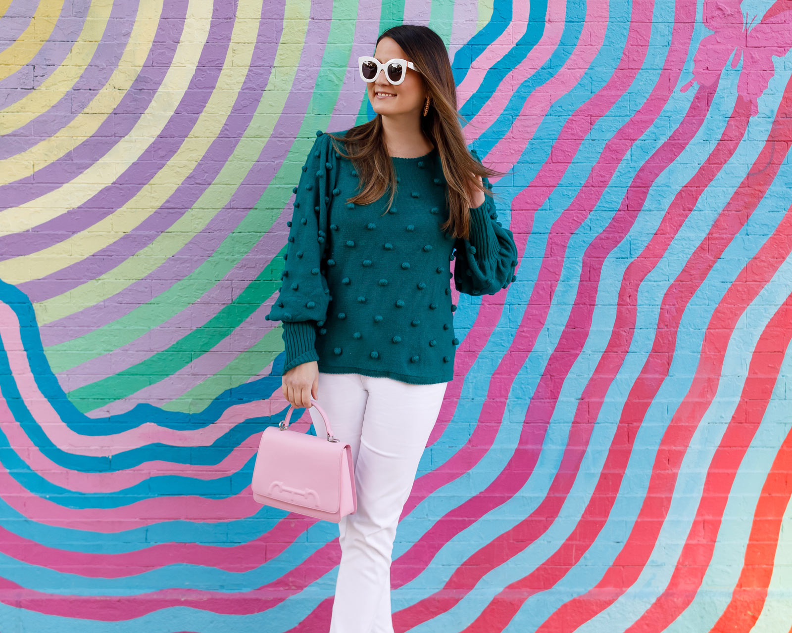 Carolina Herrera Pink Bag