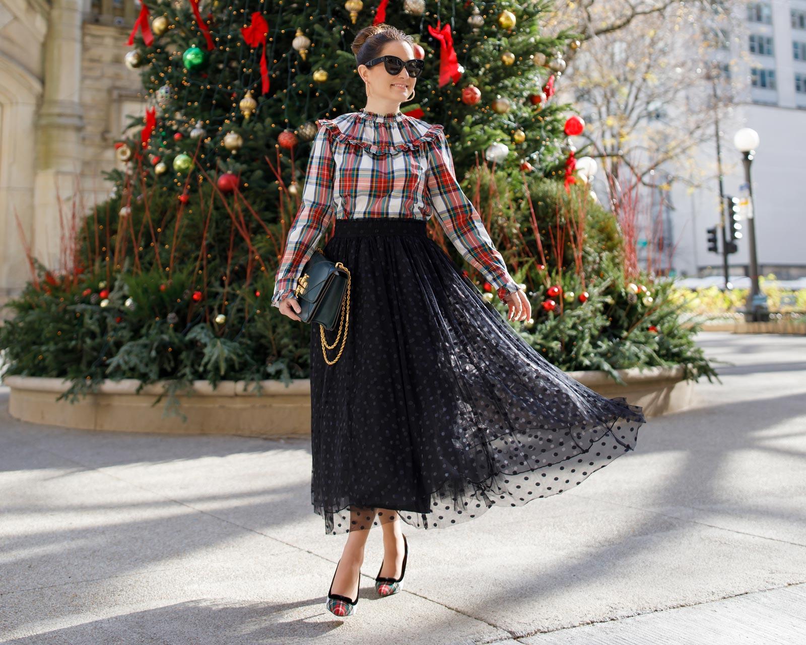 Jennifer Lake Atlantic Pacific Tulle Skirt
