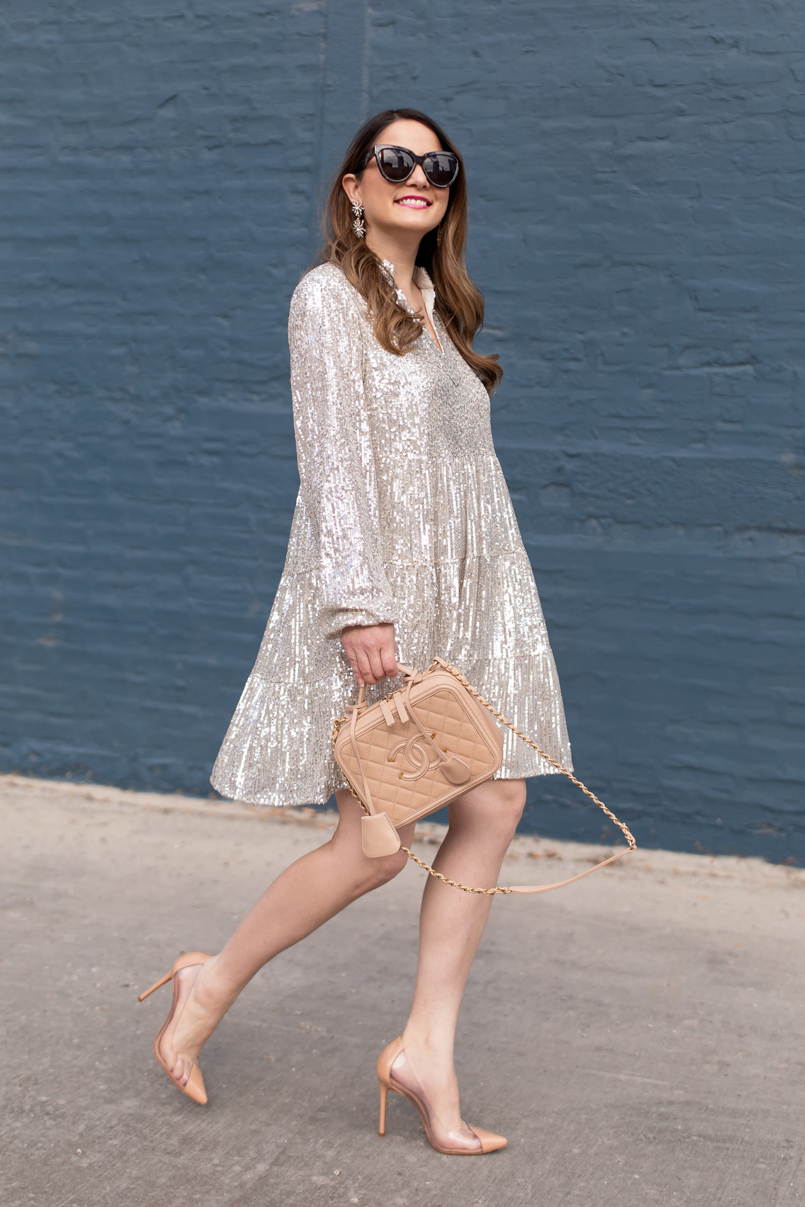 Style Charade Charlotte Sequin Dress