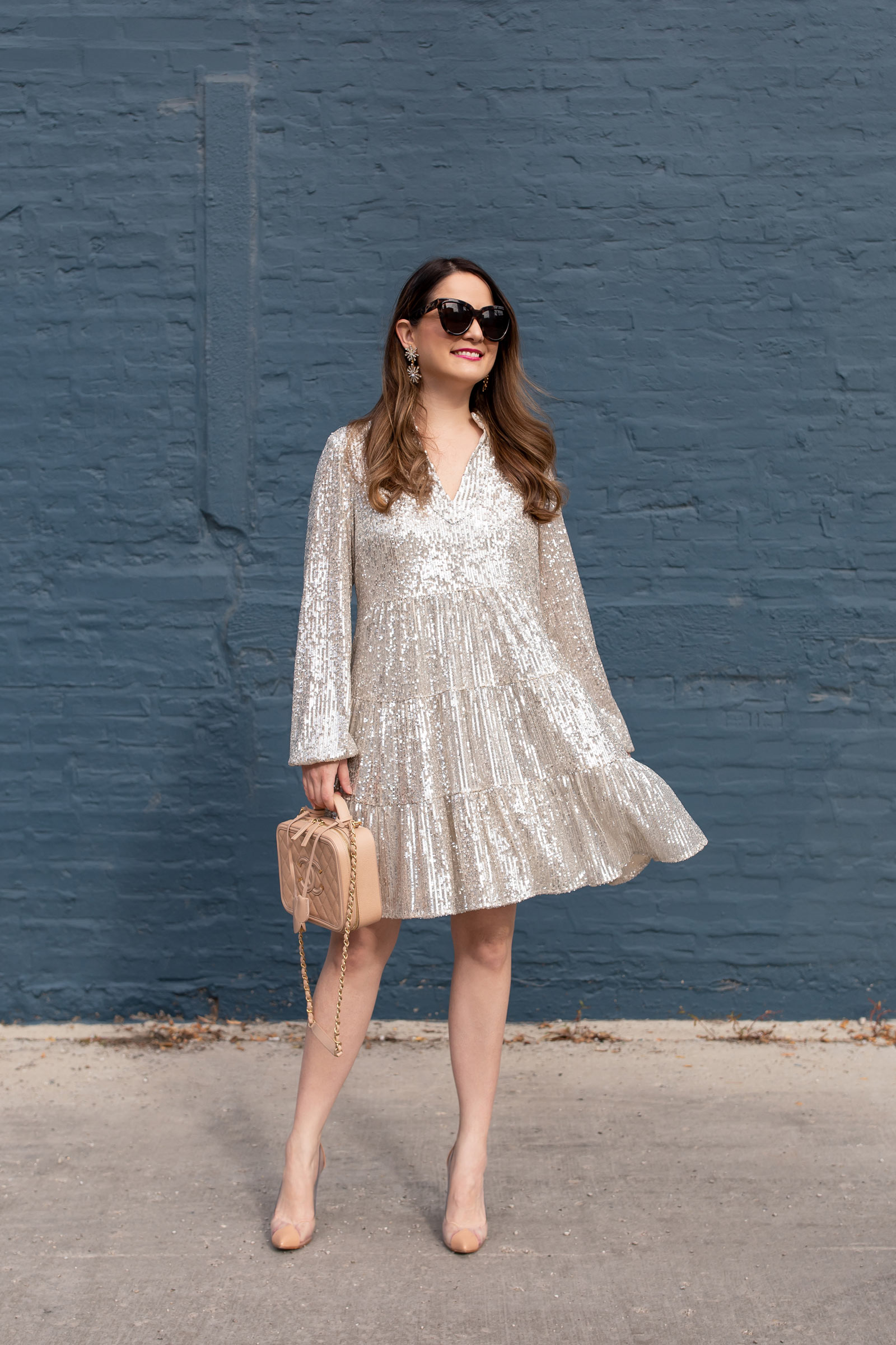 Jennifer Lake Sequin Dress