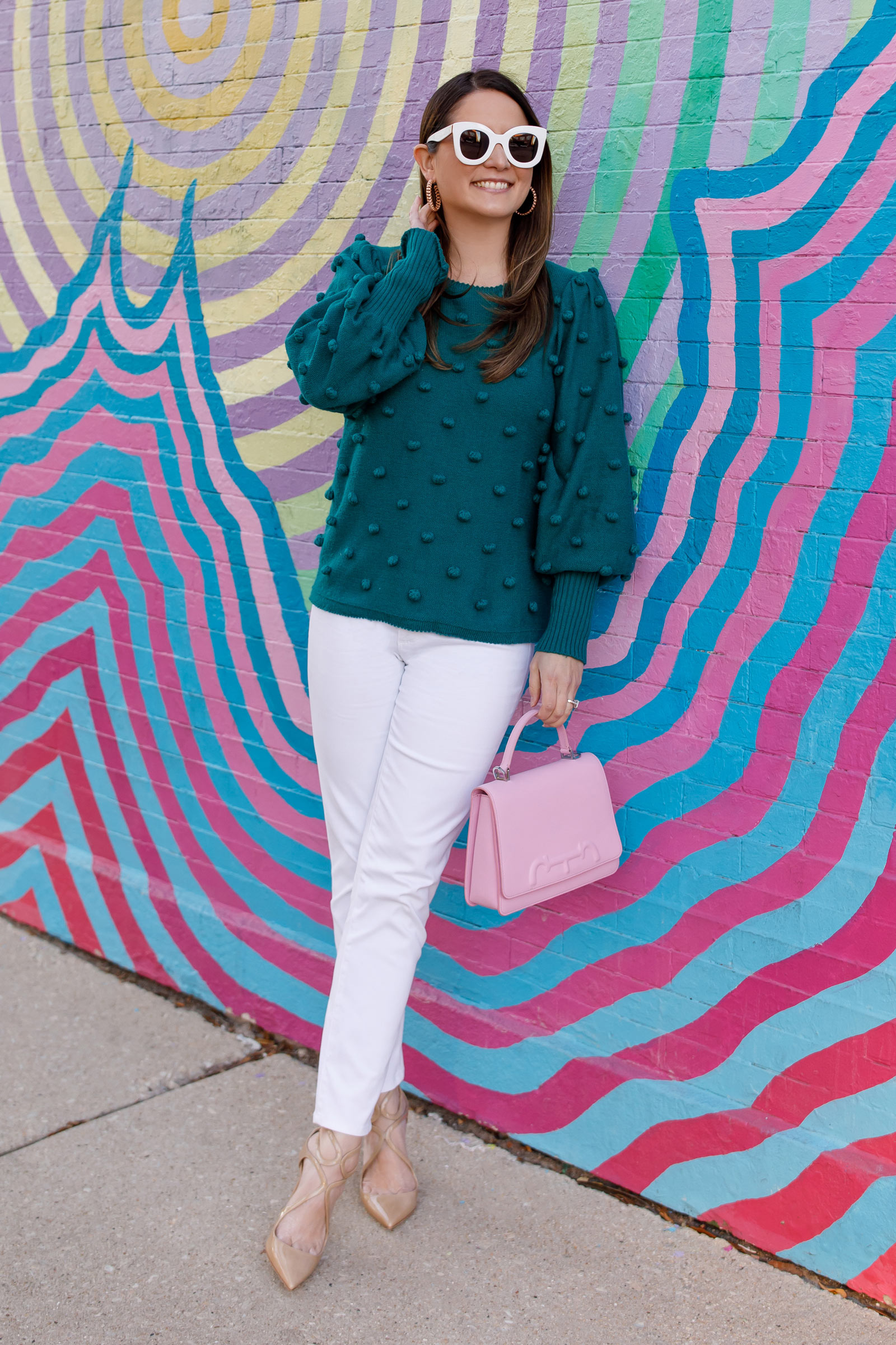 Lilly Pulitzer Emerald Sweater
