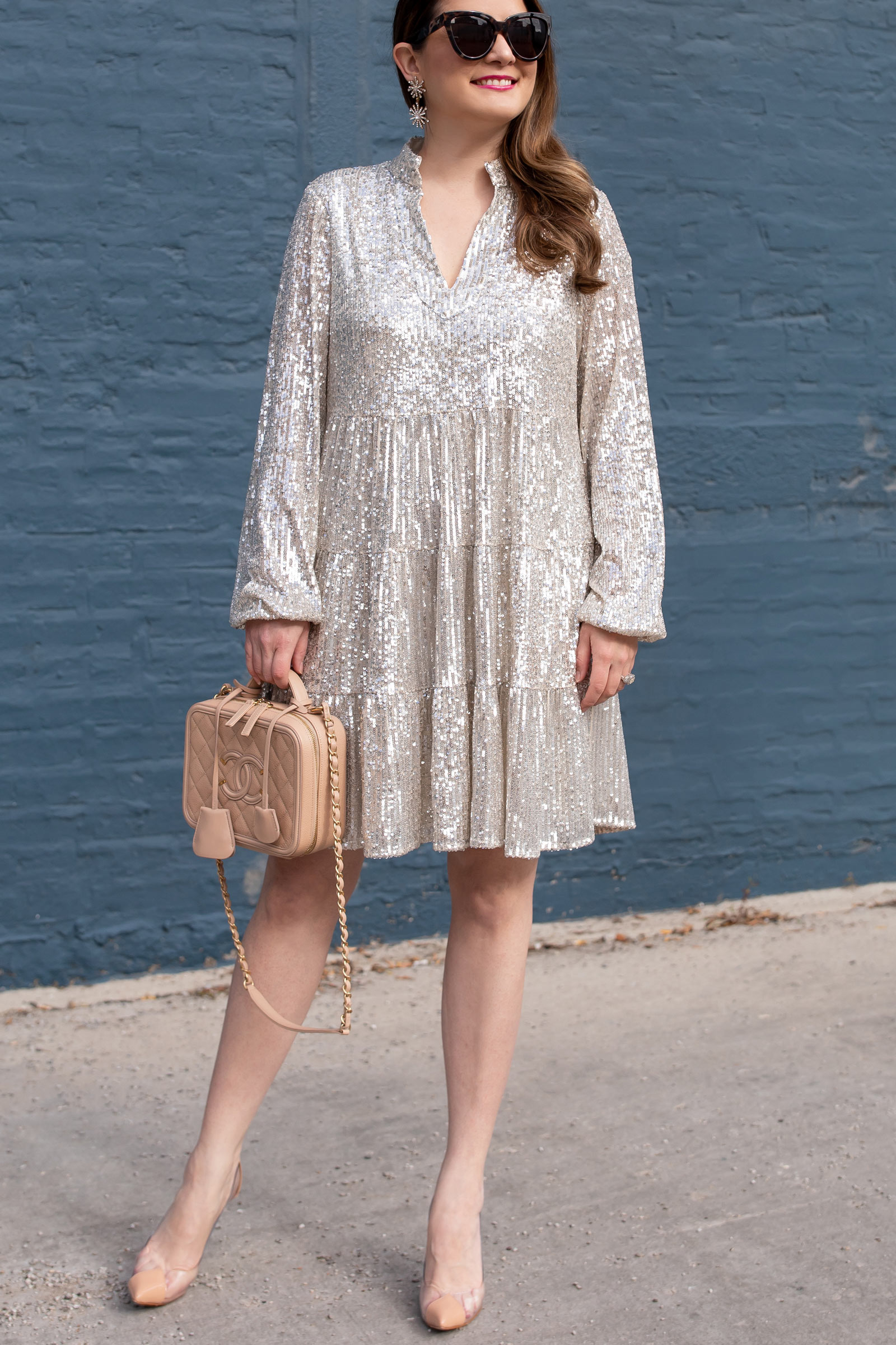 Sail to Sable Sequin Dress
